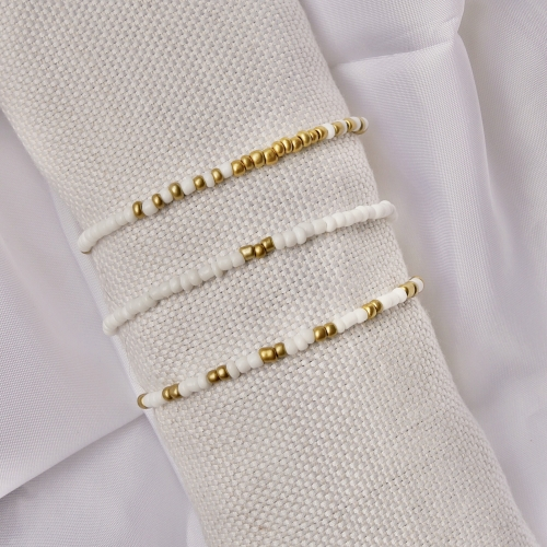 Bracelet set - lovely gold