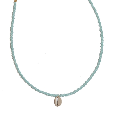 Blue shell choker