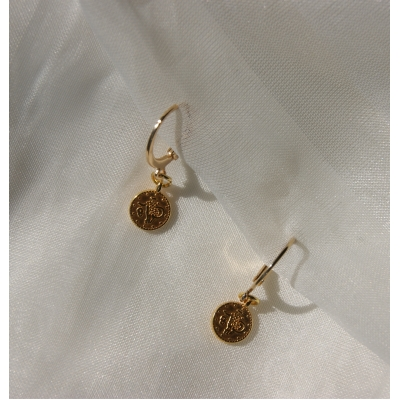 Little coins earrings